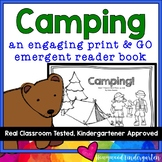 Camping : an Engaging, Rhyming, Emergent Reader Book Kids LOVE!
