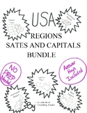 All Regions States and Capitals