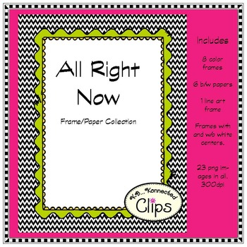 All Right Now - Paper/Frame Collection