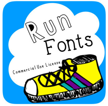 All Run Fonts {Lifetime Commerical Font License}