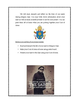 All Saints Coat of Arms Project