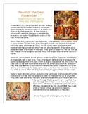 All Saints Day Feast  of the Day