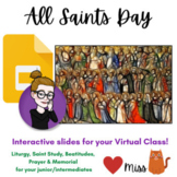 All Saints Day - REMOTE: VIRTUAL CLASSROOM - Paperless - D