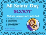 All Saints Day SCOOT Six-in-One Language Arts Skills