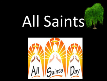 All Saints Day assembly