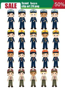 All Scout boy best set 20png SALE 70%