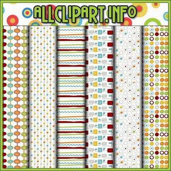 All Seasons Digital Papers