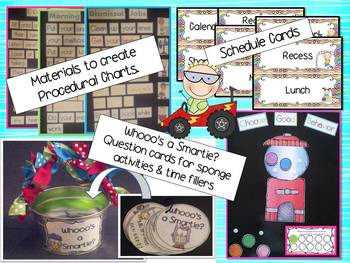 All Set?  You Bet!  Classroom Management Transitions and Routines