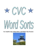 All Short Vowel Word Sorts