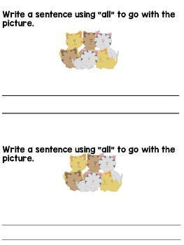All Sight Word Book