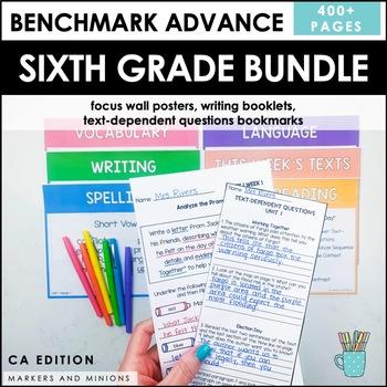 Benchmark Advance Sixth Grade Bundle (CA Edition)