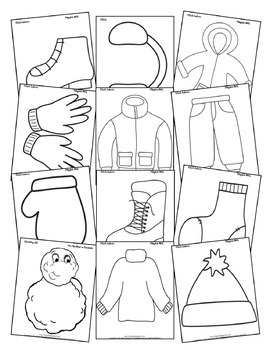 All Snowed In (5-day Thematic Unit) Includes Patterns and Printables