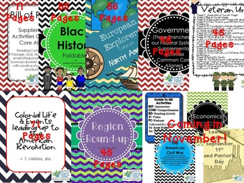 All Social Studies Units & Products By Tara Paige