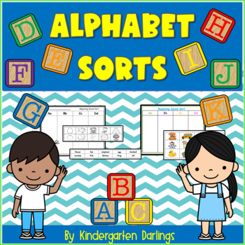 All Sorts of Alphabet Sorts: Formation and Beginning Sound Sorts A through Z