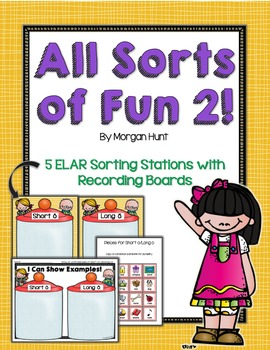 All Sorts of Fun 2! {5 ELAR sorting stations - for young learners}