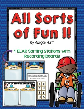 All Sorts of Fun 1! {4 ELAR sorting stations - for young l