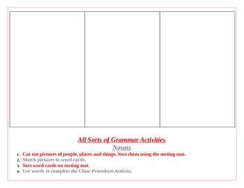All Sorts of Grammar: Nouns