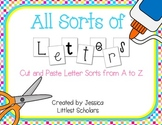 All Sorts of Letters [Letter Sorts from A to Z]