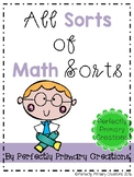 All Sorts of Math Sorts!