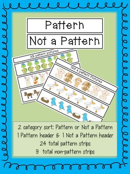 "All ""Sorts"" of Patterns"