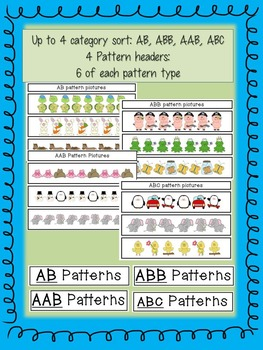 """All """"Sorts"""" of Patterns"""