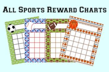 All Star Sports Incentive Reward Charts
