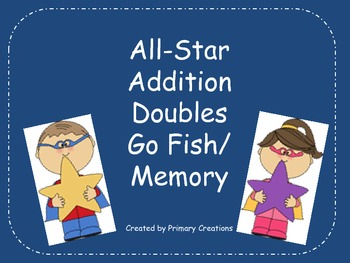 All-Star Addition Doubles Go Fish/ Memory