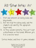 All-Star Articulation Bingo: /r/