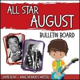 All-Star August -- Music Bulletin Board Set