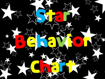 All-Star Behavior Management Posters