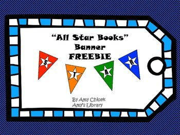 All Star Book Bunting