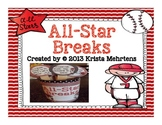 All-Star Breaks-  Baseball Themed Activities to get your students moving