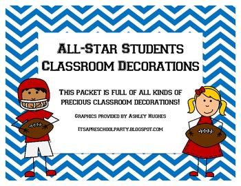 All-Star Classroom Decoration Set