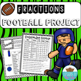 All Star Football Team Fractions Project
