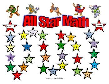 All Star Math Games