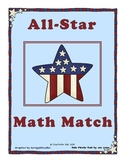 All-Star Math Match: Number Sentence Completion