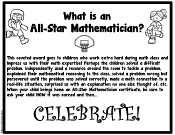 All-Star Mathematician Award