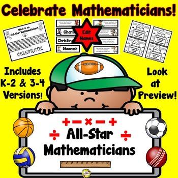 All-Star Mathematician Award