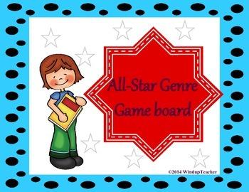 All Star Reader Genre Reproducible