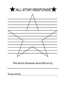 All-Star Response Form