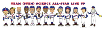 All-Star STEM Science Baseball Team - Meet The Players