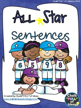 All Star Sentence Writing for Journeys Grade 1