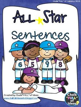 All Star Sentence Writing for Journeys Grade 1