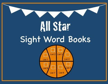 IRLA All Star Sight Word Books!
