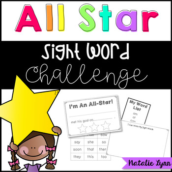 All-Star Sight Word Challenge