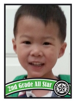 All Star Cards - Sample File - 2nd Grade