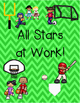 All Star Sports Classroom Job Chart