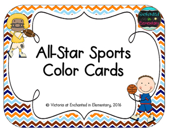 All-Star Sports Color Cards