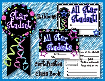 All Star Student~Student of the Week (Month) Kit