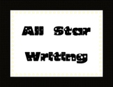 All Star Writing